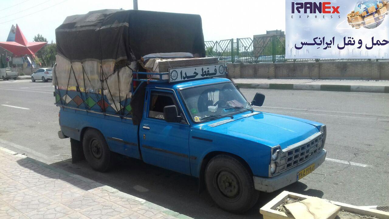 باربری شهرستان به تهران